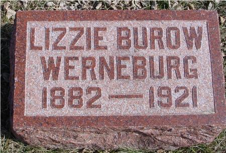 BUROW WERNEBURG, LIZZIE - Ida County, Iowa | LIZZIE BUROW WERNEBURG
