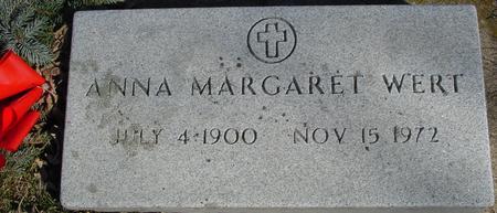 WERT, ANNA MARGARET - Ida County, Iowa | ANNA MARGARET WERT