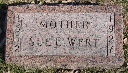 WERT, SUE E. - Ida County, Iowa | SUE E. WERT
