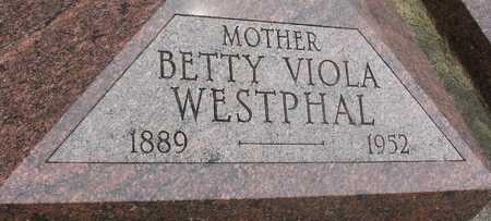WESTPHAL, BETTY VIOLA - Ida County, Iowa | BETTY VIOLA WESTPHAL