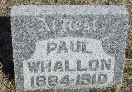 WHALLON, PAUL - Ida County, Iowa | PAUL WHALLON