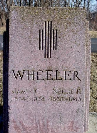 WHEELER, JAMES & NELLIE - Ida County, Iowa | JAMES & NELLIE WHEELER