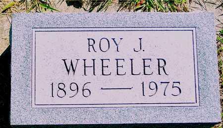 WHEELER, ROY J. - Ida County, Iowa | ROY J. WHEELER