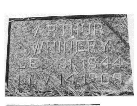 WHINERY, ARTHUR - Ida County, Iowa   ARTHUR WHINERY