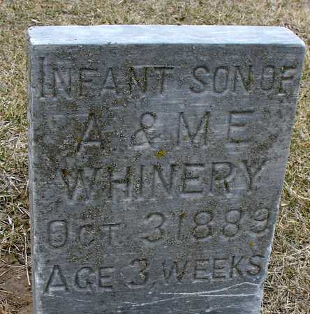 WHINERY, INFANT - Ida County, Iowa | INFANT WHINERY