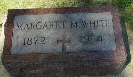 WHITE, MARGARET M. - Ida County, Iowa   MARGARET M. WHITE