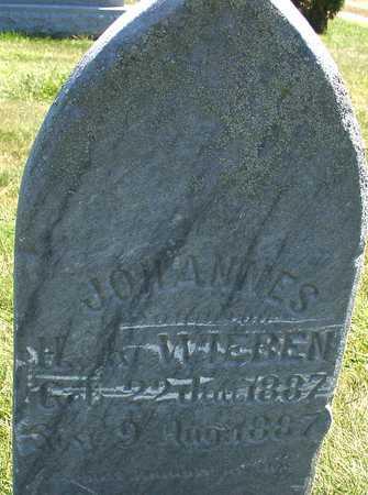 WIEBEN, JOHANNES - Ida County, Iowa   JOHANNES WIEBEN