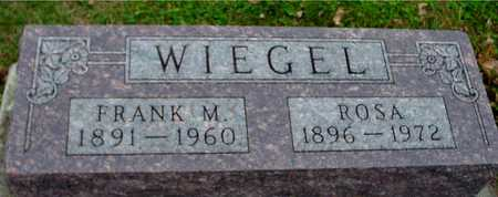 WIEGEL, FRANK M. & ROSA - Ida County, Iowa | FRANK M. & ROSA WIEGEL
