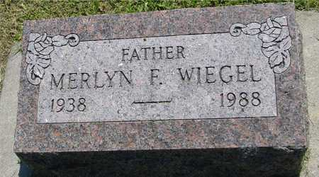 WIEGEL, MERLYN F. - Ida County, Iowa | MERLYN F. WIEGEL