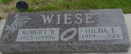 WIESE, ROBERT R.  & HILDA - Ida County, Iowa | ROBERT R.  & HILDA WIESE
