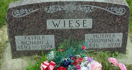 WIESE, RICHARD & JOSEPHINE - Ida County, Iowa | RICHARD & JOSEPHINE WIESE