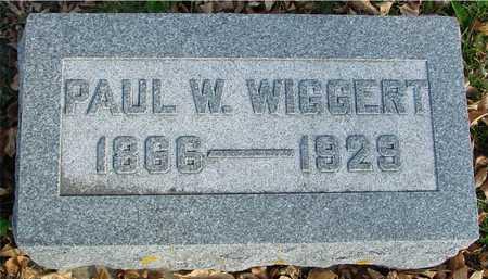 WIGGERT, PAUL W. - Ida County, Iowa | PAUL W. WIGGERT