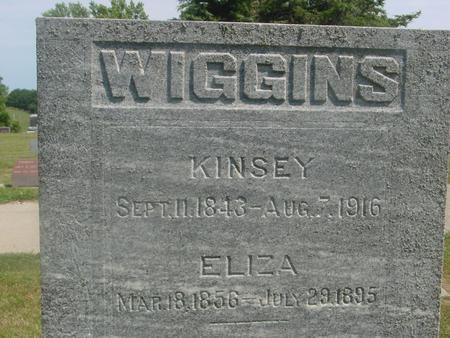 WIGGINS, KINSEY  &  ELIZA - Ida County, Iowa   KINSEY  &  ELIZA WIGGINS