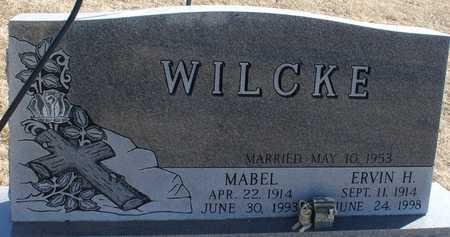 WILCKE, ERVIN & MABEL - Ida County, Iowa | ERVIN & MABEL WILCKE