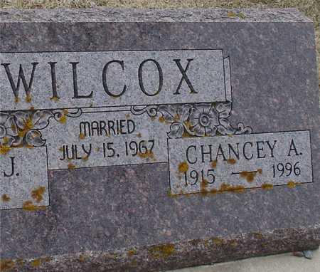 WILCOX, CHANCEY A. - Ida County, Iowa | CHANCEY A. WILCOX
