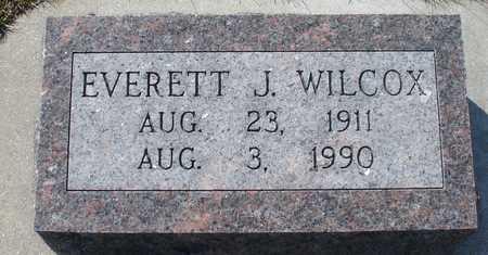 WILCOX, EVERETT - Ida County, Iowa   EVERETT WILCOX
