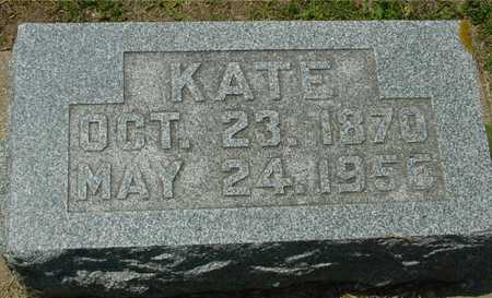 WILCOX, KATE - Ida County, Iowa | KATE WILCOX