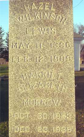 WILKINSON, HARRIETT ELIZABETH - Ida County, Iowa | HARRIETT ELIZABETH WILKINSON