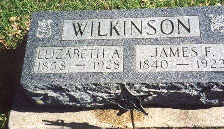 WILKINSON, JAMES F. - Ida County, Iowa | JAMES F. WILKINSON