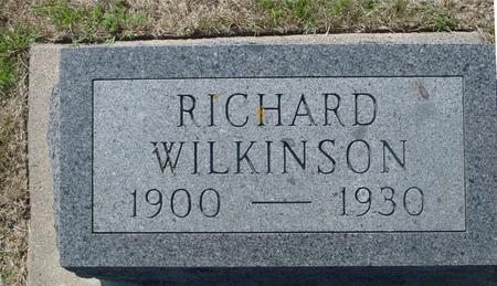 WILKINSON, RICHARD - Ida County, Iowa | RICHARD WILKINSON