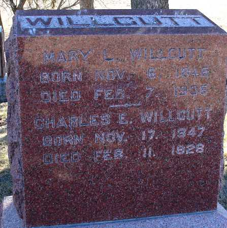 WILLCUTT, CHARLES E. & MARY - Ida County, Iowa | CHARLES E. & MARY WILLCUTT