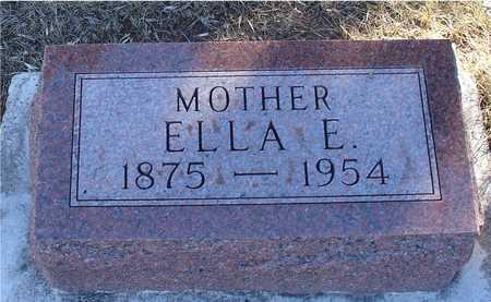 WILLCUTT, ELLA E. - Ida County, Iowa | ELLA E. WILLCUTT