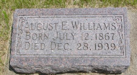 WILLIAMS, AUGUST - Ida County, Iowa | AUGUST WILLIAMS