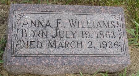 WILLIAMS, ANNE E,. - Ida County, Iowa | ANNE E,. WILLIAMS