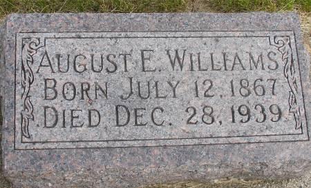 WILLIAMS, AUGUST E. - Ida County, Iowa   AUGUST E. WILLIAMS