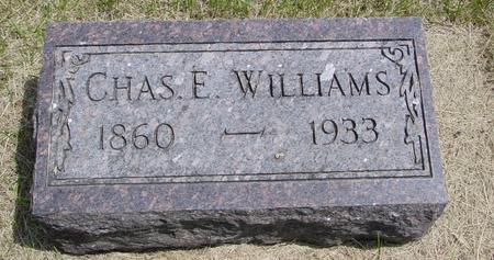 WILLIAMS, CHARLES E. - Ida County, Iowa | CHARLES E. WILLIAMS
