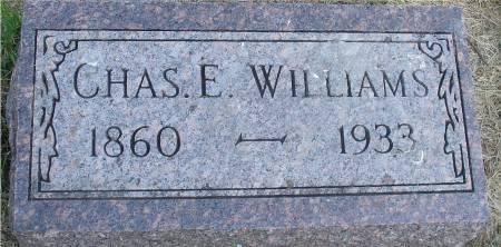 WILLIAMS, CHARLES E. - Ida County, Iowa   CHARLES E. WILLIAMS