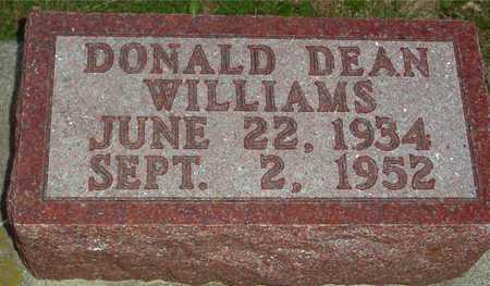 WILLIAMS, DONALD DEAN - Ida County, Iowa | DONALD DEAN WILLIAMS
