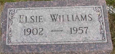 WILLIAMS, ELSIE - Ida County, Iowa | ELSIE WILLIAMS
