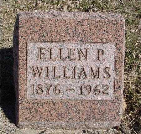 WILLIAMS, ELLEN P. - Ida County, Iowa | ELLEN P. WILLIAMS