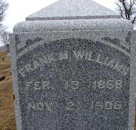 WILLIAMS, FRANK M. - Ida County, Iowa | FRANK M. WILLIAMS