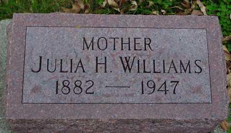 WILLIAMS, JULIA H. - Ida County, Iowa | JULIA H. WILLIAMS