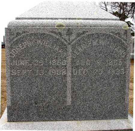 WILLIAMS, JOSEPH & JENNIE - Ida County, Iowa | JOSEPH & JENNIE WILLIAMS