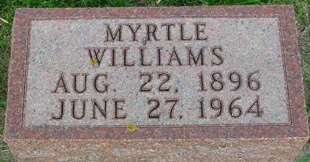 WILLIAMS, MYRTLE - Ida County, Iowa | MYRTLE WILLIAMS