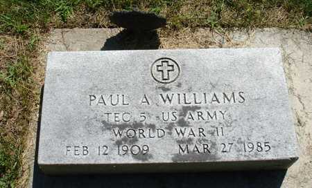 WILLIAMS, PAUL A. - Ida County, Iowa | PAUL A. WILLIAMS