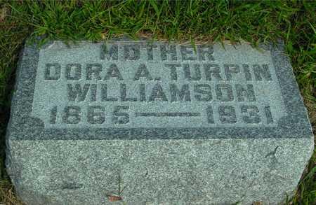 TURPIN WILLIAMSON, DORA A - Ida County, Iowa | DORA A TURPIN WILLIAMSON
