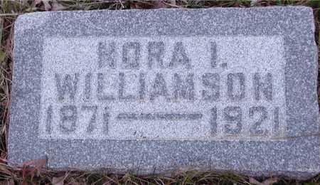 WILLIAMSON, NORA I. - Ida County, Iowa   NORA I. WILLIAMSON