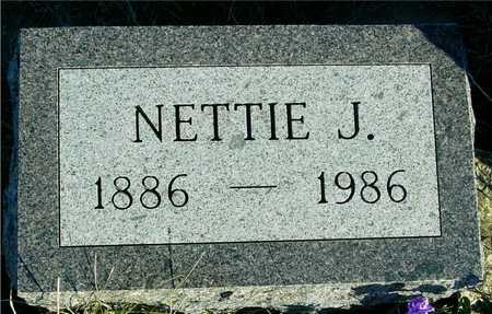 WILLIAMSON, NETTIE J. - Ida County, Iowa | NETTIE J. WILLIAMSON