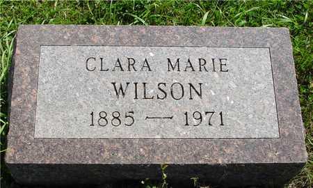 WILSON, CLARA MARIE - Ida County, Iowa | CLARA MARIE WILSON