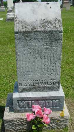 WILSON, CHILDREN OF D. A. & I. M. - Ida County, Iowa | CHILDREN OF D. A. & I. M. WILSON
