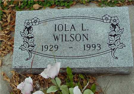 WILSON, IOLA L. - Ida County, Iowa | IOLA L. WILSON