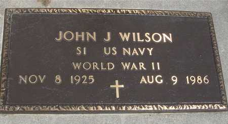 WILSON, JOHN J. - Ida County, Iowa   JOHN J. WILSON