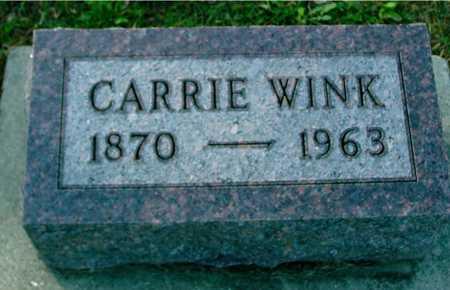 WINK, CARRIE - Ida County, Iowa | CARRIE WINK