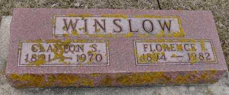 WINSLOW, CLAYTON & FLORENCE - Ida County, Iowa   CLAYTON & FLORENCE WINSLOW