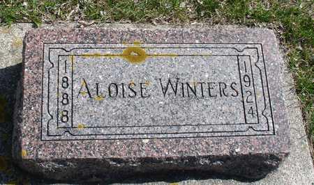 WINTERS, ALOISE - Ida County, Iowa | ALOISE WINTERS
