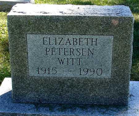 PETERSEN WITT, ELIZABETH - Ida County, Iowa | ELIZABETH PETERSEN WITT